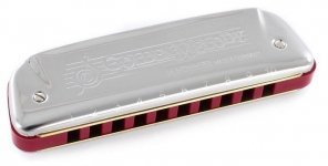 Губная гармошка Hohner М542066 F Golden Melody