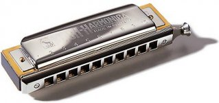 Губная гармошка Hohner М98001 C Chromatic Koch