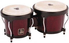 "Бонго Latin Percussion Aspire 6 3/4"" x 8"" Dark Wood LPA601-DW LP810504"