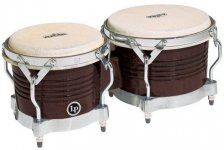 "Бонго Latin Percussion Matador Wood 7 1/4 x 8 5/8"" Almond Brown M201-ABW LP811006"