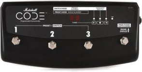 Футсвич Marshall Footswitch For Code Series (PEDL-91009)