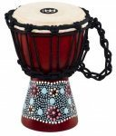 Джембе Meinl HDJ8-XXS Mini Djembe Flower Design 4 1/2