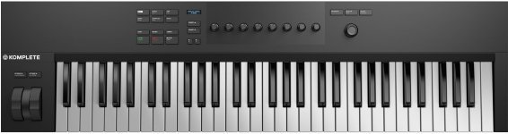 MIDI клавіатура Native Instruments Komplete Kontrol A61