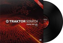 Тайм-код Native Instruments TRAKTOR SCRATCH Control Vinyl MK2 Black