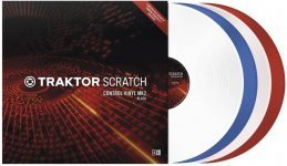 Тайм-код Native Instruments TRAKTOR SCRATCH Control Vinyl MK2 Blue