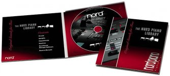 Библеотека тембров Nord DVD Nord Piano Library