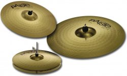 Набір тарілок Paiste 101 Brass Universal Set + Crash 14