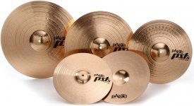 Оркестрові тарілки Paiste 5 Universal Set + Crash 16