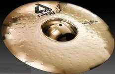 Тарелка Paiste Alpha Brilliant Metal Crash 19