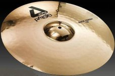 Тарілка Paiste Alpha Brilliant Rock Crash 17