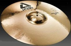Тарелка Paiste Alpha Brilliant Rock Ride 20