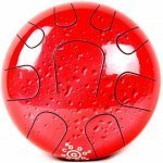 Глюкофон Palm Percussion HD5-4 Metal Tongue Drum 9 Leafs Red Splash