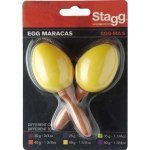 Маракаси Stagg EGG-MA S YW