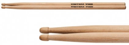 Барабанні палички StarSticks Western Wood Hornbeam 5A Long  (WW5AL)