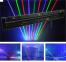 Лазер анімаційний LanLing LNH90RGB RGB Moving Head Fat Beam Laser Curtain