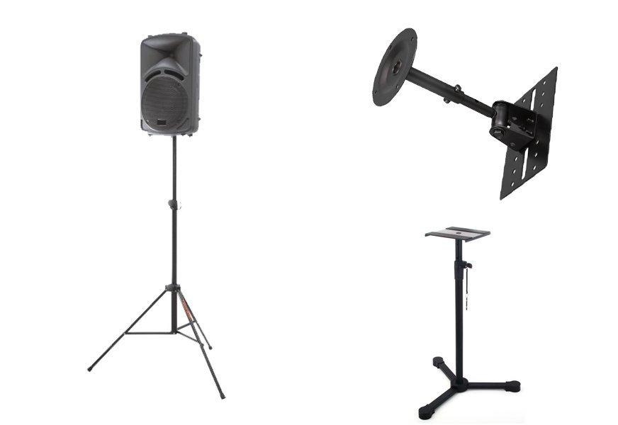 Стійки та підставки для акустичних систем