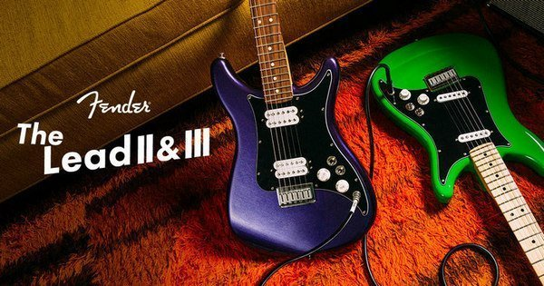 Новини від Fender - Player Lead II & III !